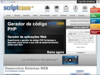 Thumbnail do site ScriptCase - Ferramenta de Desenvolvimento Web