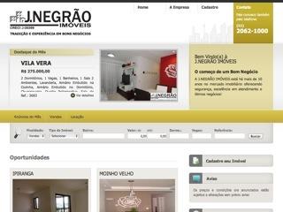 Thumbnail do site J.Negrão Imóveis