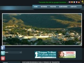 Thumbnail do site Guia de Rio de Contas