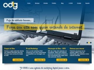 Thumbnail do site ODIG Marketing Digital