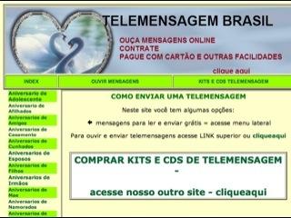 Thumbnail do site Brasil Telemensagens