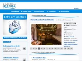 Thumbnail do site Pousadas em Ubatuba