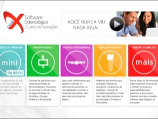 Thumbnail do site XDental - Software Odontológico