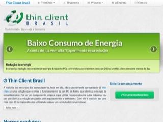 Thumbnail do site Thin Client Brasil