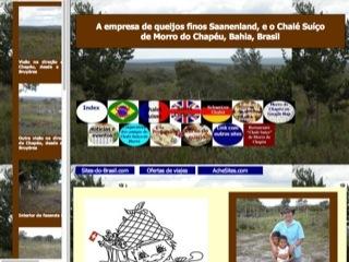 Thumbnail do site Chalé Suiço
