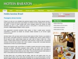 Thumbnail do site Hotéis baratos Brasil