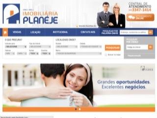 Thumbnail do site Imobiliária Planéje