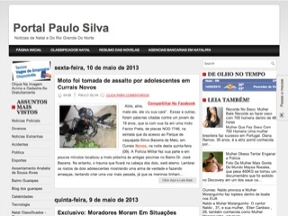 Thumbnail do site Portal Paulo Silva