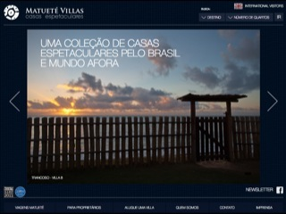 Thumbnail do site Matueté Villas