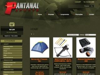 Thumbnail do site Pantanal Sports