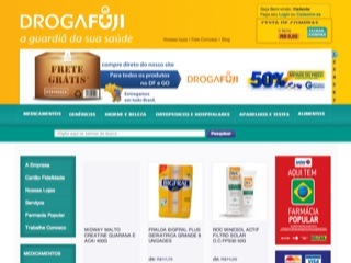Thumbnail do site DrogaFuji