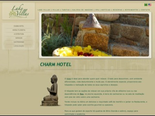 Thumbnail do site Lake Villas - Spa  & Charm Hotel