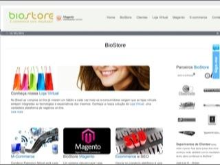 Thumbnail do site BioStore E-commerce Group