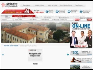 Thumbnail do site Imóveis em Guaratinguetá