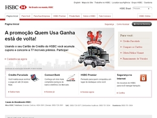 Thumbnail do site HSBC Bank Brasil S.A.