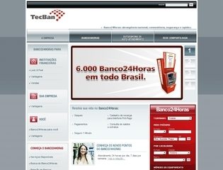 Thumbnail do site Banco24Horas