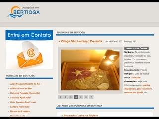 Thumbnail do site Pousadas em Bertioga