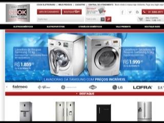 Thumbnail do site Cook Eletroraro - Comércio de Eletrodomésticos