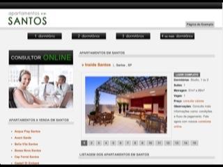 Thumbnail do site Apartamentos em Santos