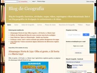 Thumbnail do site Blog de Geografia
