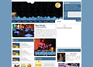 Thumbnail do site Bombordo American Bar
