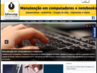 Thumbnail do site Inforcomp Informática