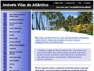 Thumbnail do site Cabral Imóveis - Vilas do Atlântico