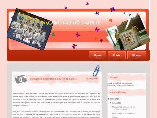 Thumbnail do site LARY e LAY O futuro do Karate da Bahia