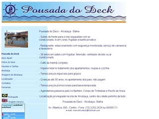 Thumbnail do site Pousada do Deck e Deck Apart