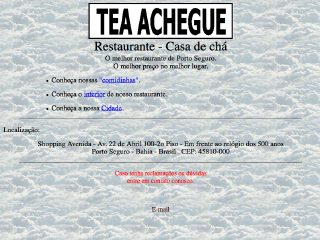 Thumbnail do site Restaurante - Casa de chá