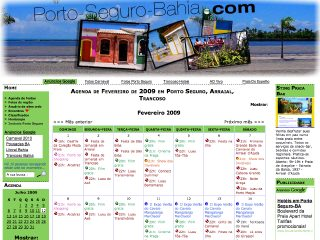 Thumbnail do site Agenda Porto Seguro 2014/2015