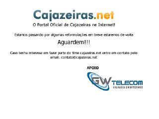 Thumbnail do site Cajazeiras.net