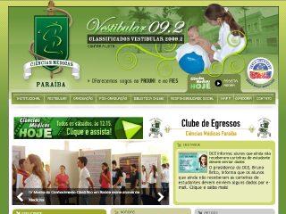 Thumbnail do site Faculdade de Ciências Médicas da Paraíba