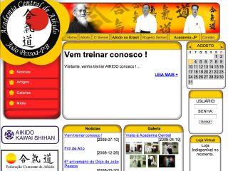 Thumbnail do site Aikidô na Paraíba