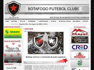 Thumbnail do site Botafogo F. C.