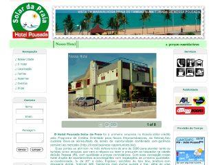 Thumbnail do site Hotel Pousada Solar da Praia