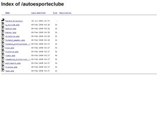Thumbnail do site Auto Esporte Clube