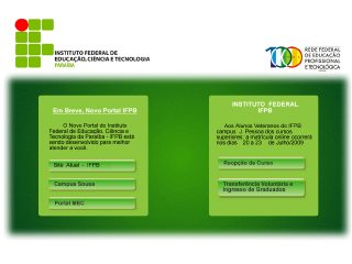 Thumbnail do site Centro Federal de Educação Tecnológica da Paraíba