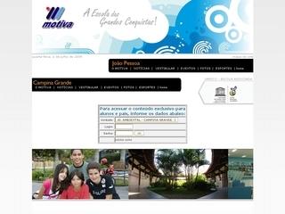 Thumbnail do site Colégio Motiva - João Pessoa