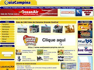 Thumbnail do site GuiaCampina.com.br