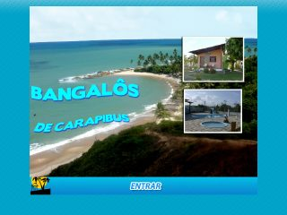 Thumbnail do site Pousada Bangalos de Carapibus