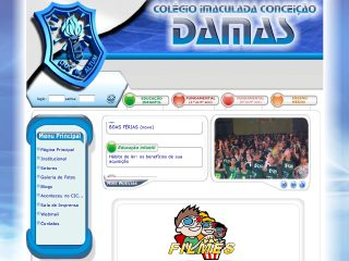 Thumbnail do site Colegio Imaculada Conceição (CIC Damas)
