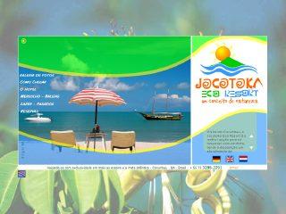 Thumbnail do site Jocotoka Eco Resort - Um conceito de natureza