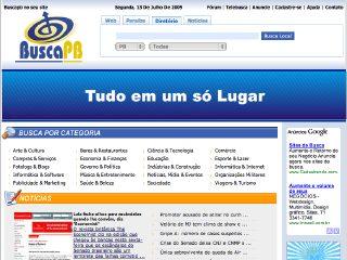 Thumbnail do site Busca PB - O site de busca da Paraíba