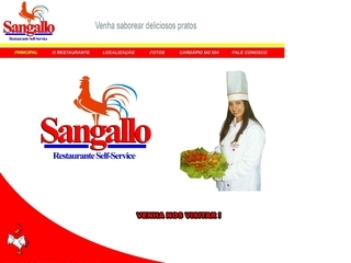 Thumbnail do site Sangallo Restaurante Self Service