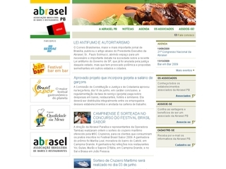 Thumbnail do site Abrasel PB