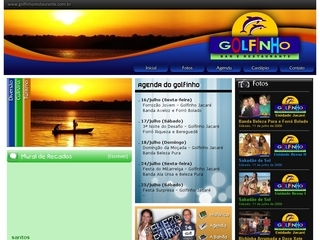 Thumbnail do site Golfinho Restaurante