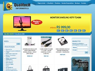 Thumbnail do site Qualitech