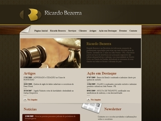 Thumbnail do site Escritório de Advocacia Ricardo Bezerra
