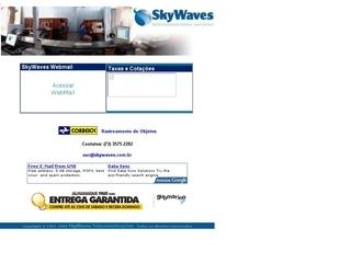 Thumbnail do site SkyWaves - Serviços de Telecomunicação